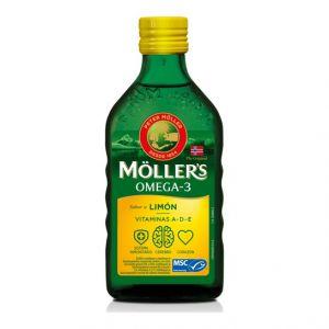 Möller's Huile de foie de morue aromatisée au citron 250 ml