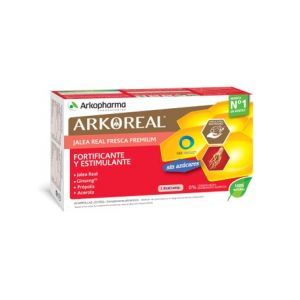 ArkoReal Gelée Royale + Ginseng 20 ampoules