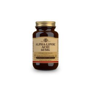 Solgar Acide Alpha Lipoïque 60mg 30 gélules Végétales