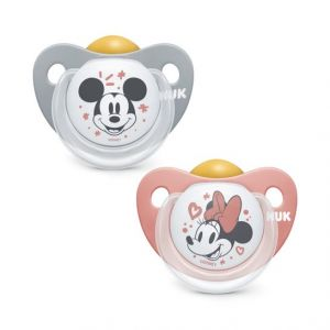 Tétine Nuk tétine anatomique Mickey Mouse latex Mickey Mouse Tétine anatomique T-2 1ud