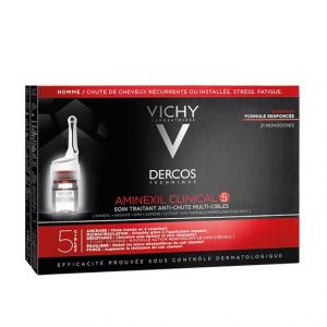 Vichy Dercos Aminexil Clinical 5 Homme 21 fioles