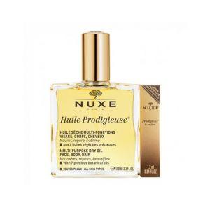 Nuxe Huile Prodigieuse 100ml + Prodigieux Le Parfum 1.2ml