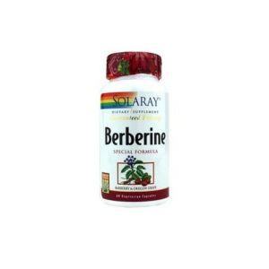 Solaray Berbérine Berbérine 60 Caps