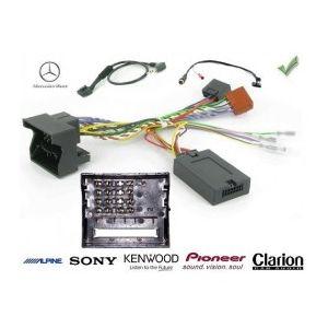 COMMANDE VOLANT Mercedes Sprinter 2001-2006 connecteur 6 pins - Pour Pioneer complet avec interface specifique