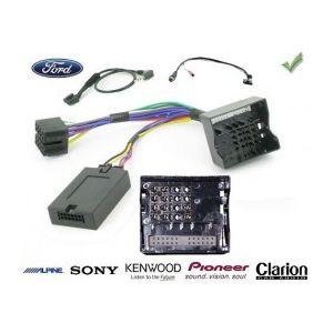 COMMANDE VOLANT FORD C-MAX 2011- AFFICHEUR PETIT ECRAN - Pour SONY complet avec interface specifique