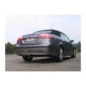 ATTELAGE Saab 9-3 Cabriolet 2003-2007 - RDSO demontable sans outil - attache remorque BRINK-THULE