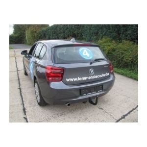 ATTELAGE BMW Serie 1 2011- (F20) 5 Portes - COL DE CYGNE - attache remorque BRINK-THULE