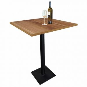Table haute de bar CAVEPRO, H 111,8 cm, poirier
