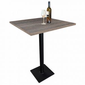 Table haute de bar CAVEPRO wengé, H 111,8 cm