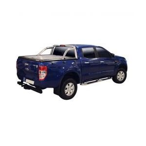 TONNEAU COVER ALU NOIR FORD RANGER SUPER CAB 2012- COMP ROLL BAR