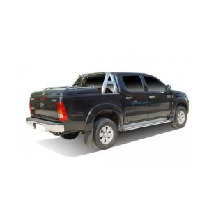 TONNEAU COVER CT TOYOTA HILUX/VIGO 2005- DBL CAB COMPATIBLE ROLL BAR ORIGINE