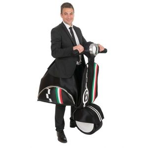 COSTUME HOMME SCOOTER ITALIEN-TAILLE UNIQUE