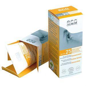Eco Cosmetics - Creme Solaire - Indice 25