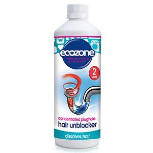 Ecozone - Deboucheur liquide pour canalisation special cheveux