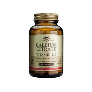 Solgar Calcium citrate with vitamin D-3