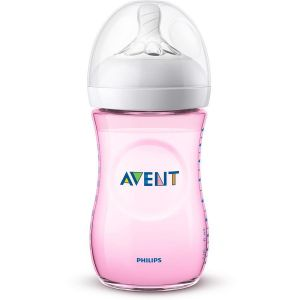 Avent Natural 2.0 biberon rose 260ml
