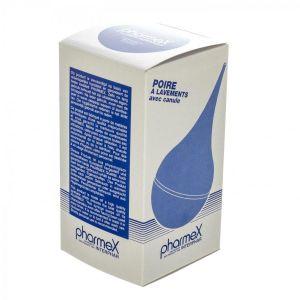 Pharmex poire à lavements+canule