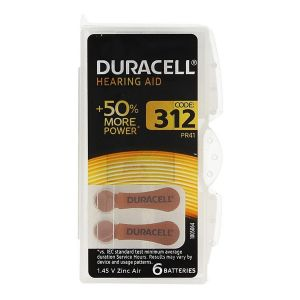 Duracell pile auditive 312