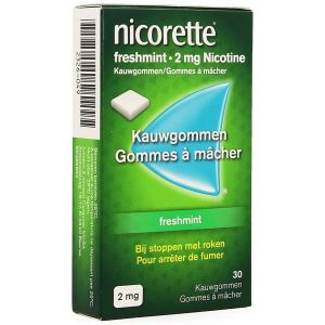 Nicorette freshmint 2mg chewing-gum