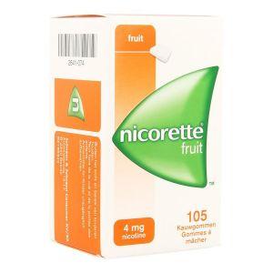 Nicorette Freshfruit 4mg chewing-gum