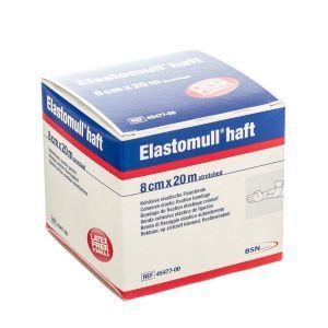 Elastomull bande de fixation sans latex 8cmx20m
