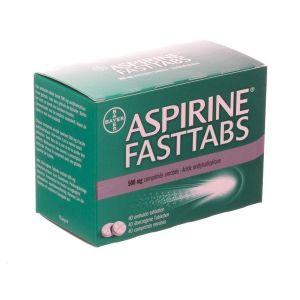 Aspirine fasttabs 500mg