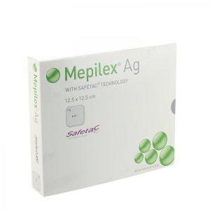 Mepilex Ag pansement stérile 12,5cmx12,5cm