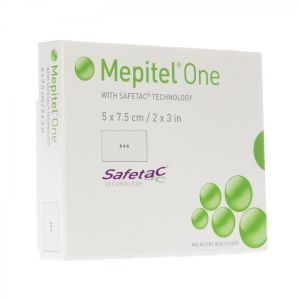 Mepitel one compresse stérile 5cmx7,5cm