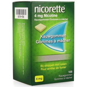 Nicorette 4mg chewing-gum
