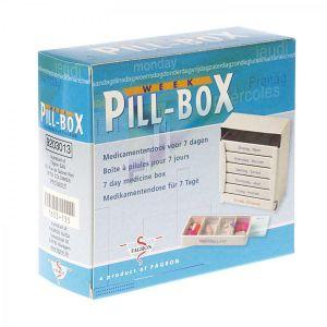 Pill-box pillulier pour 7 jours