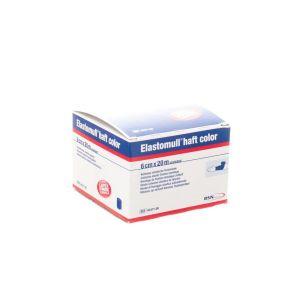 Elastomull bande de fixation sans latex 6cmx20m bleu