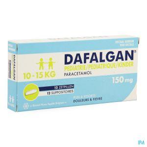 Dafalgan Pédiatrique 150mg