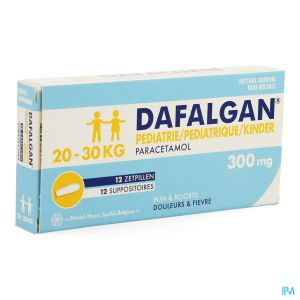 Dafalgan Pédiatrique 300mg