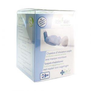 Itin-haler chambre d'inhalation souple