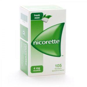 Nicorette 4mg freshmint chewing-gum