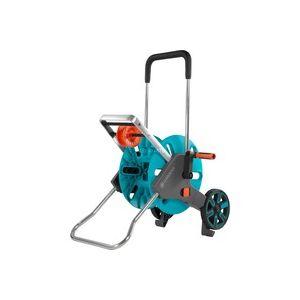 AquaRoll M Easy Chariot sur roues Manuel Noir, Bleu, Orange, Enrouleur transportable