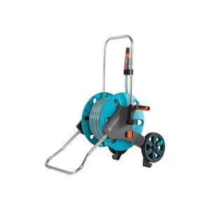 AquaRoll M Chariot sur roues Manuel Bleu, Enrouleur transportable
