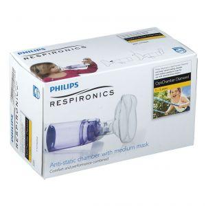 Optichamber Chambre d'inhalation à valve avec masque Médium 1 - 5 ans 0383735798252