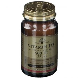 Solgar Vitamin D-3 15 Mcg/600IU pc(s) capsule(s)