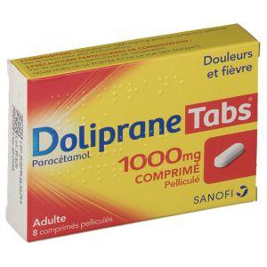 Doliprane Tabs® 1000 mg 8 pc(s)