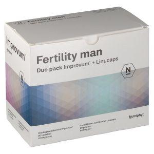 Fertility Man Duo Improve + Linucaps 2x60 pc(s) 5430000149457
