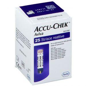Accu-Chek® Aviva Bandelettes Reactive 25 pc(s) 4015630981519