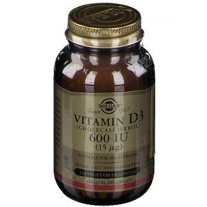 Solgar® Vitamin D-3 15 µg/600IU