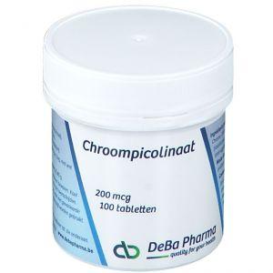 Deba Picolinate de chrome 200 mcg 100 pc(s)