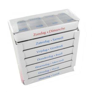 Boîte A Pilules 1 Semaine 1 pièce