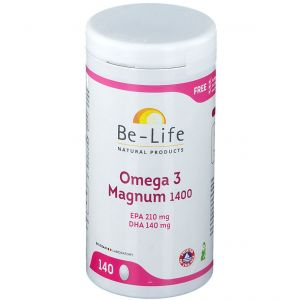 Be-Life Omega 3 Magnum 1400 140 pc(s) 5413134003390