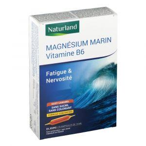 Naturland MAGNÉSIUM MARIN Vitamine B6 ml ampoule(s) buvable(s)