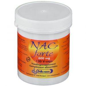 Deba NAC-forte 600 mg N-Acetyl-L-Cysteine + cofactoren 120 pc(s)