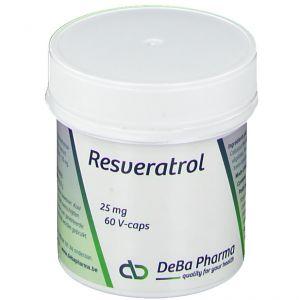 Deba Resveratrol 25mg 60 pc(s)