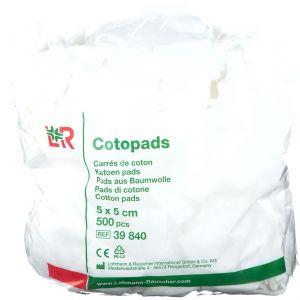 L&R Cotopads 5 x 5 cm pc(s) balai(s) à franges